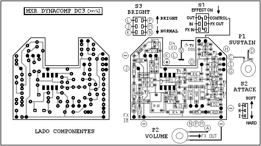 ibanez ts9 schematic original tube screamer schematic