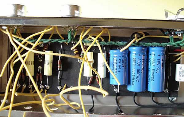 Como armar un amplificador valvular + fotos + yapa